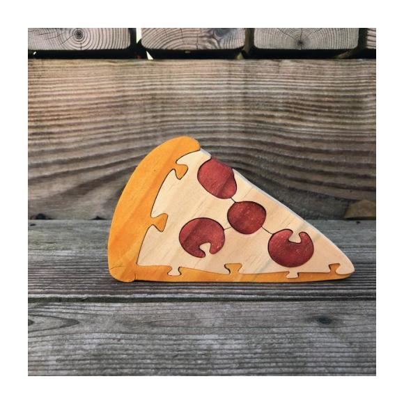 Pizza Wooden Puzzle
