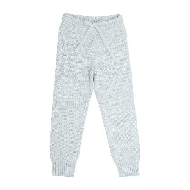 Light Blue Knit Pant