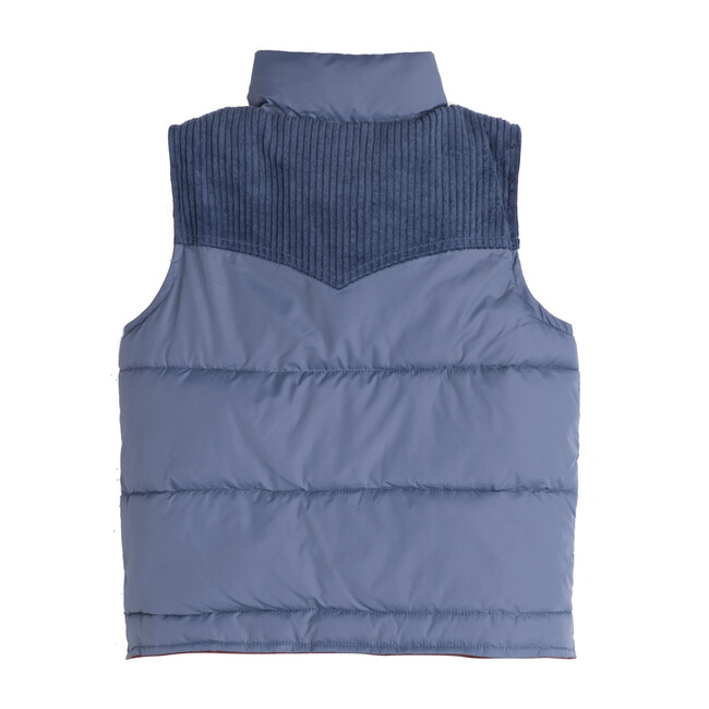 Frankie Vest, Blue Multi