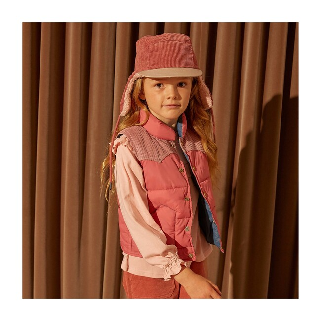 Frankie Vest, Pink Multi