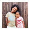Strong Brave Kind Tee, Green - Tees - 2