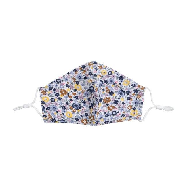 Floral Check Mask Bundle, Blue & Purple