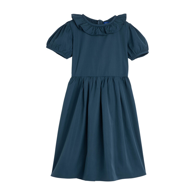 Sofia Dress, Peacock Blue