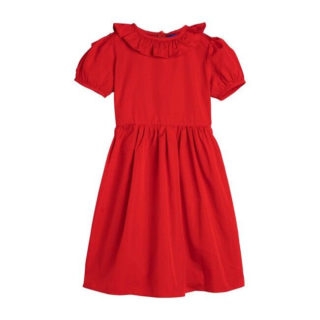 Sofia Dress, Festive Red