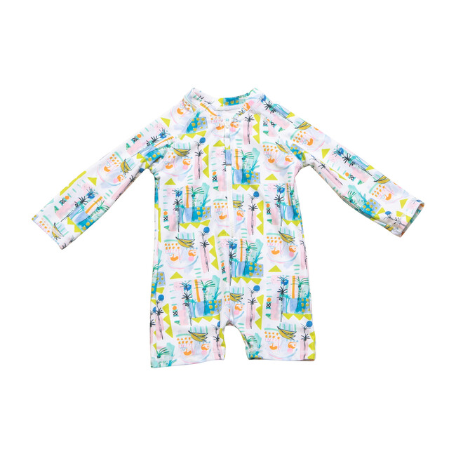 *Exclusive* Mini Taylor Short One Piece Suit, Sol Fruit