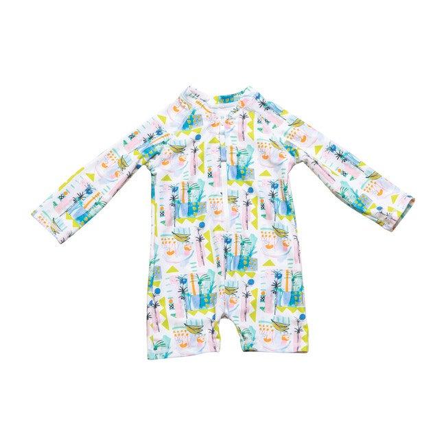 *Exclusive* Mini Taylor Short One Piece Suit, Sol Fruit