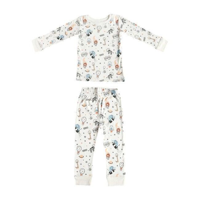 Printed Pajama Set, Space