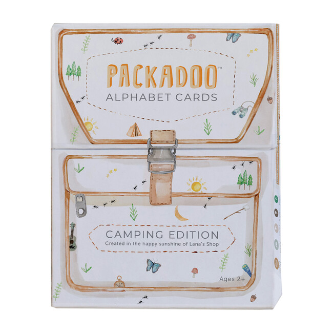 Packadoo Alphabet Cards: Camping Edition