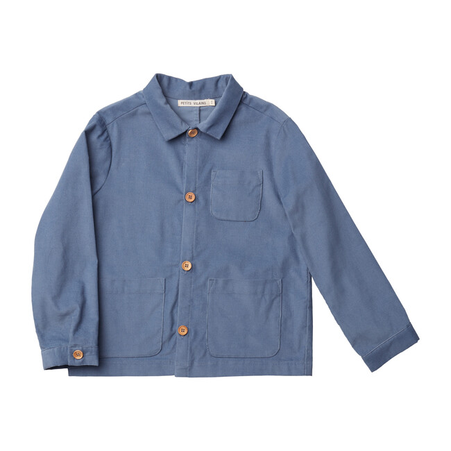 Oscar Chore Shirt, Blue