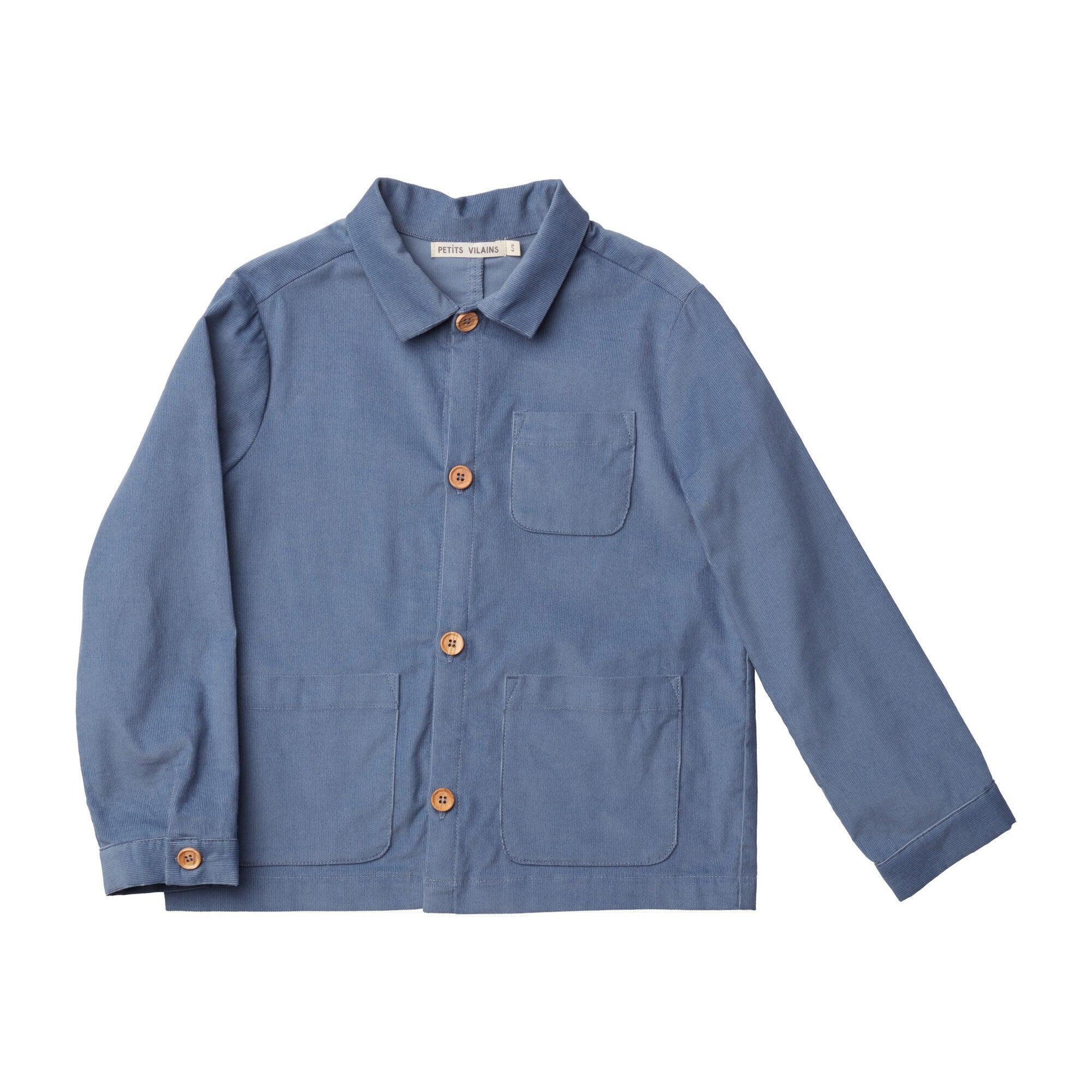Oscar Chore Shirt, Blue