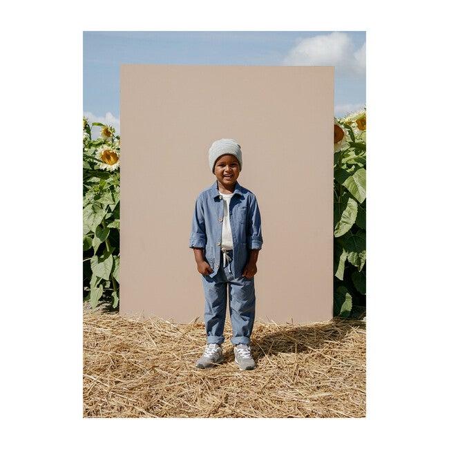 Paul Slim Trousers, Blue