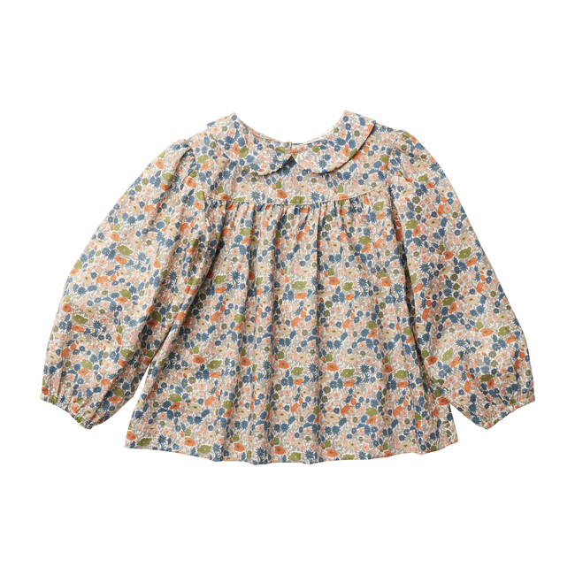Esther Peter Pan Blouse, Poppy Forest