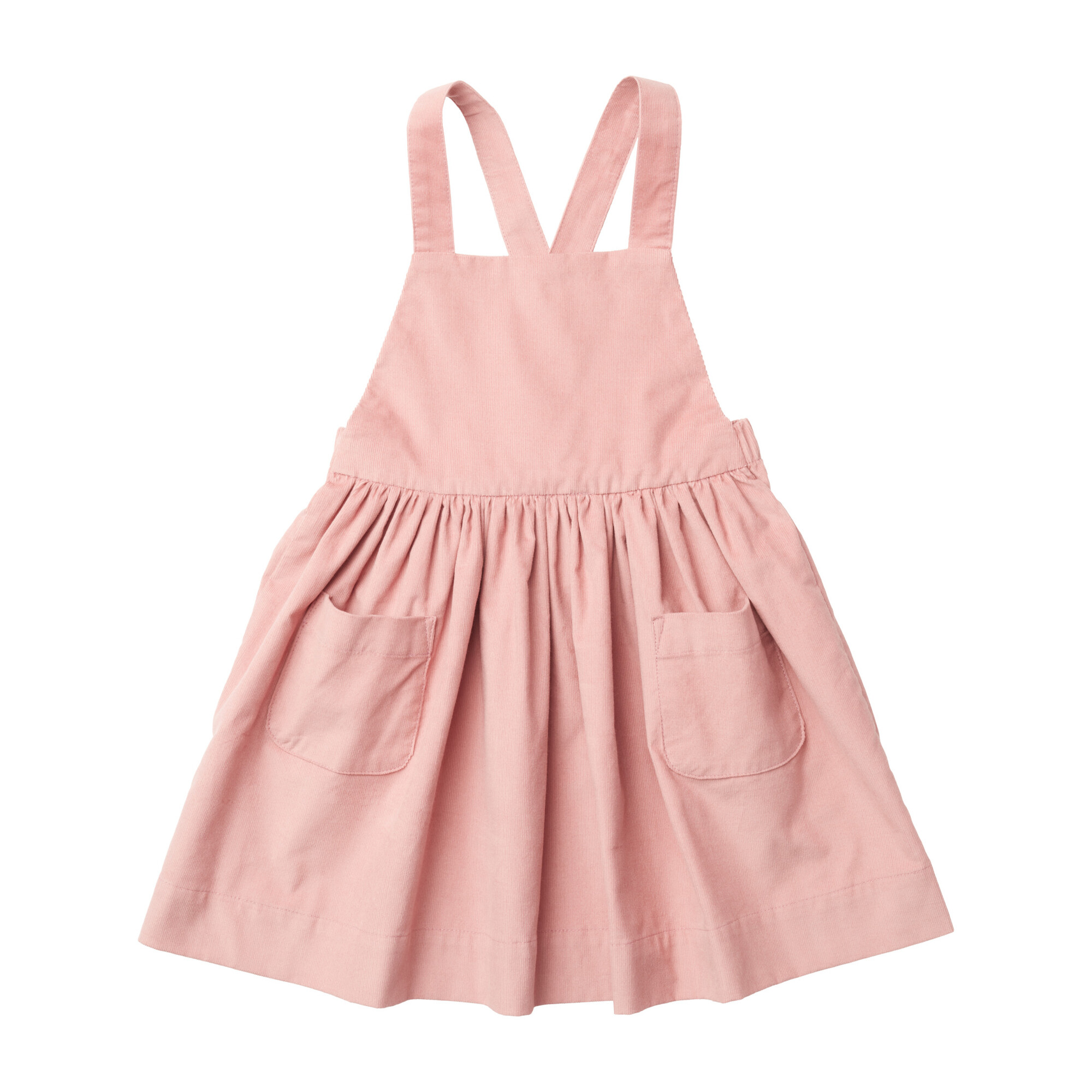 Ines Pinafore Dress, Petal