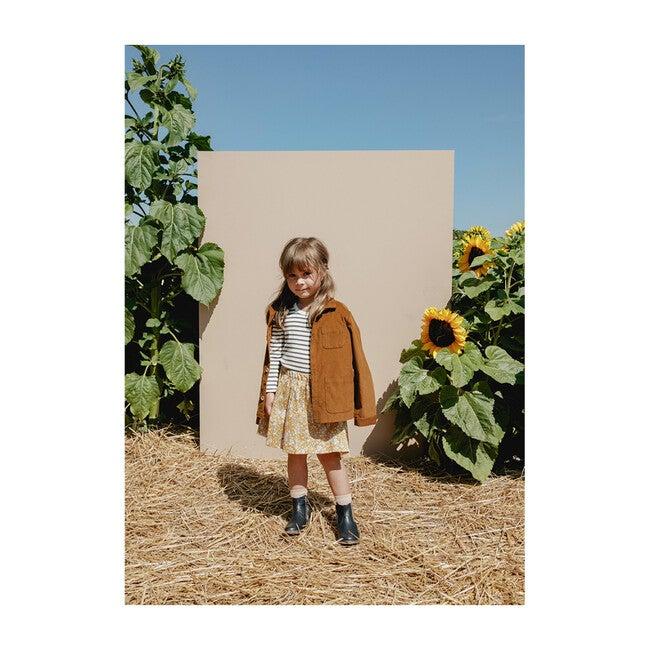 Josephine Mini Skirt, Autumn Blooms