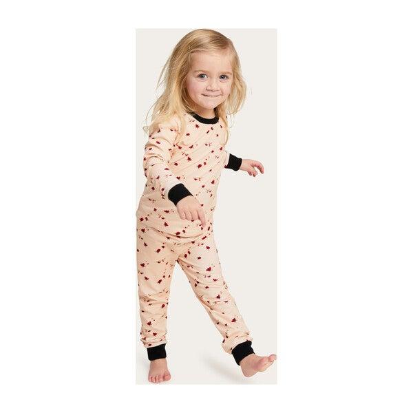 Kids Lanie Bug Lulu PJ Set, Blush