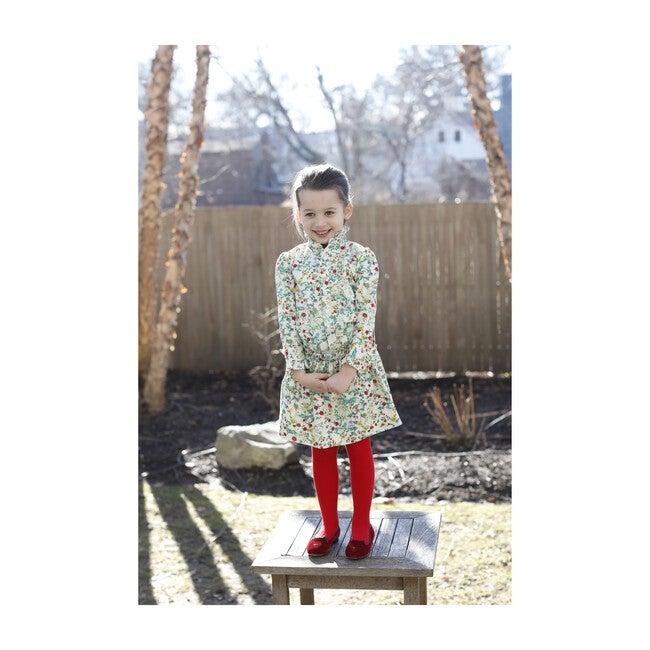 Sadie Shirtdress, Fall Floral
