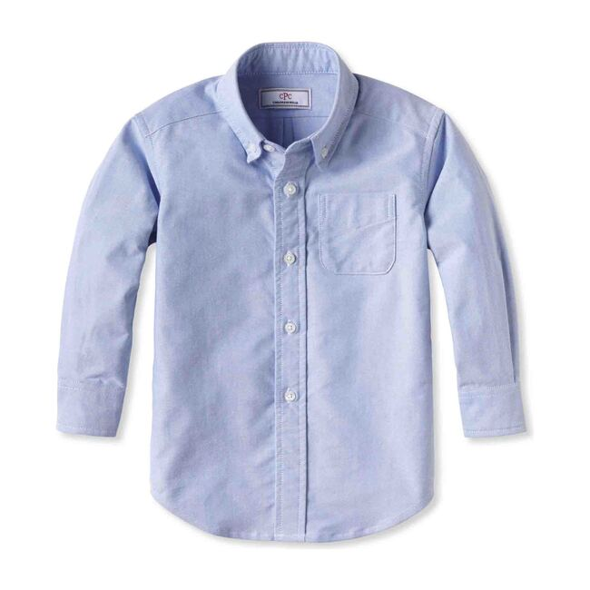 Owen Button Down shirt, Blue Oxford