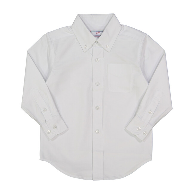 Owen Oxford Shirt, White