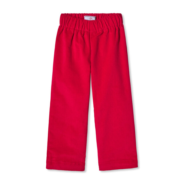 Myles Slim Pant, Crimson