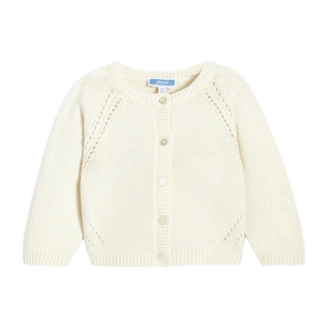 Toddler Cardigan, Off White