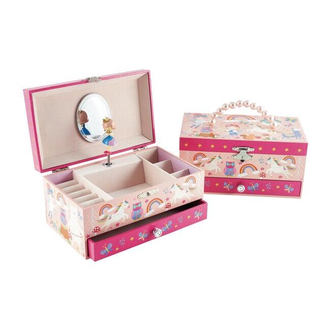 Rainbow Woodland Jewelry Box