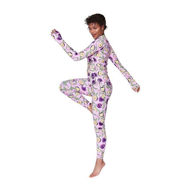 Women's Lara High Rise Legging, Honey Plum