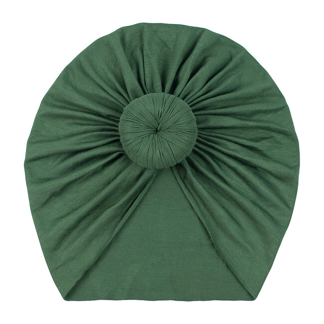 Classic Knot Headwrap, Olive Green