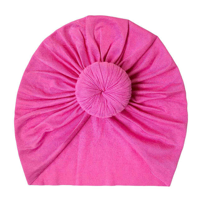 Classic Knot Headwrap, Hot Pink