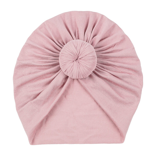 Classic Knot Headwrap, Dusty Pink