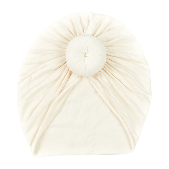Classic Knot Headwrap, Pearl