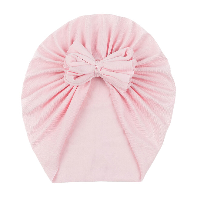 Classic Bow Headwrap, Soft Pink