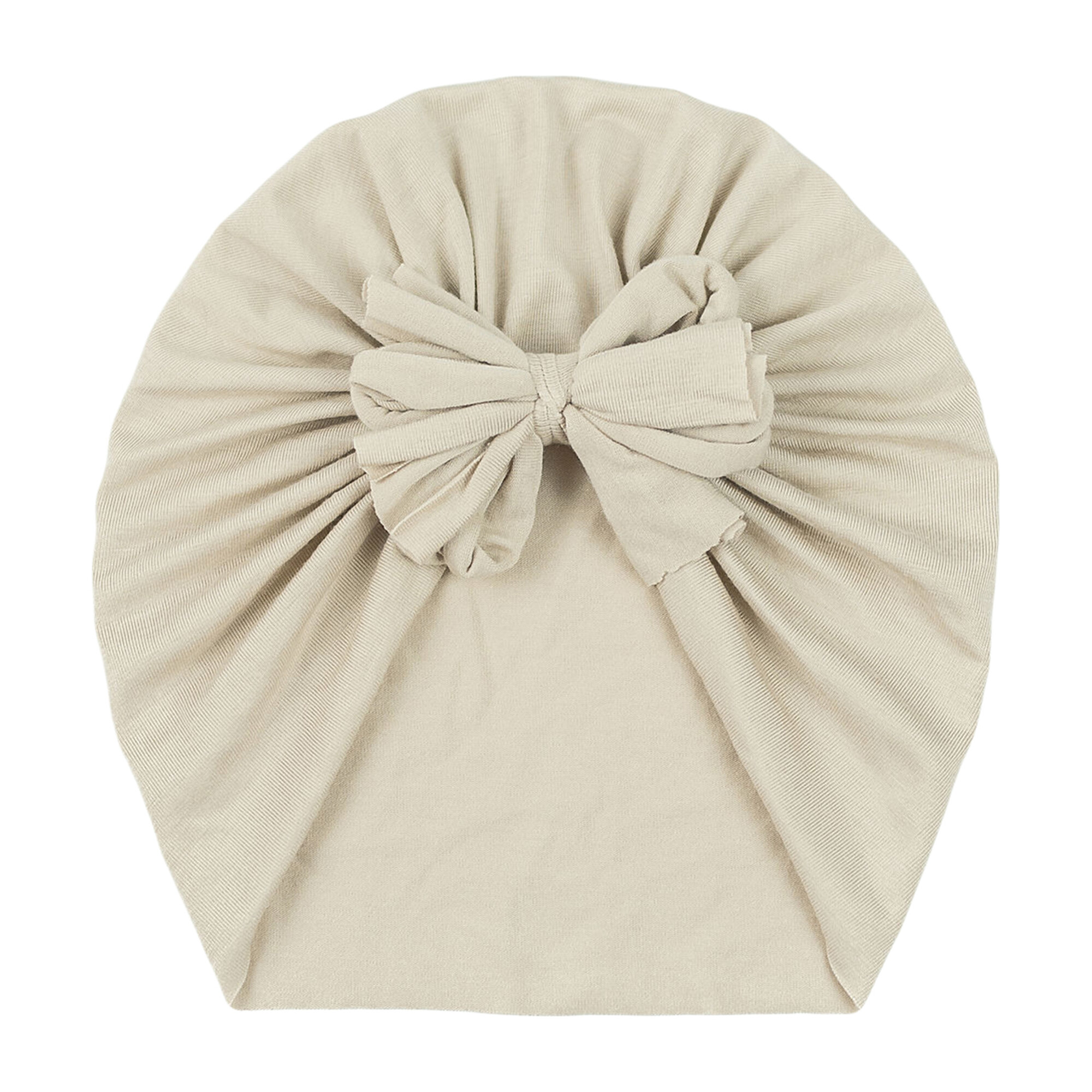 Classic Bow Headwrap, Sand