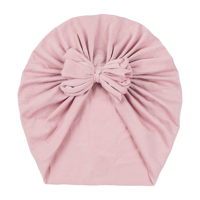 Classic Bow Headwrap, Dusty Pink