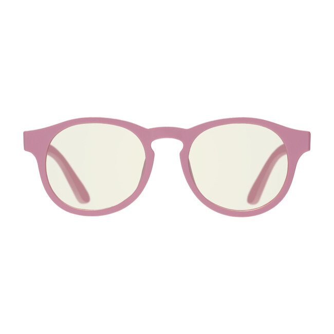 Screen Saver Blue Light Glasses, Pretty in Pink Keyhole