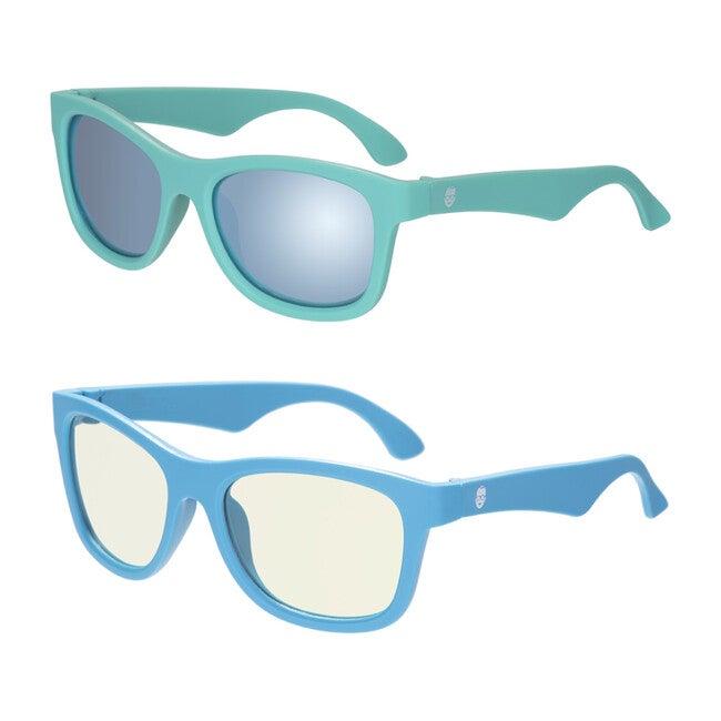 Babiators Sun & Screen Gift Set, Blue Crush & The Surfer Polarized Shades