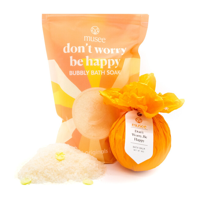 Don't Worry Be Happy Bath Balm & Soak Duo