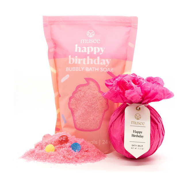 Happy Birthday Bath Balm & Soak Duo