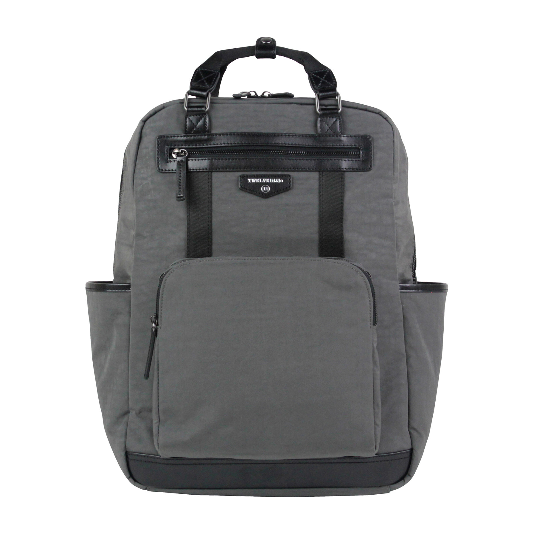 Unisex Courage Diaper Backpack, Grey