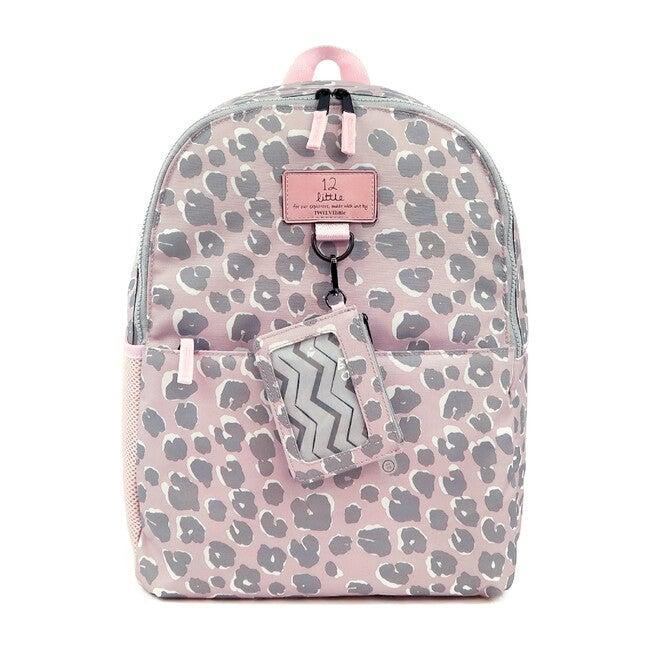 Adventure Backpack, Pink Leopard