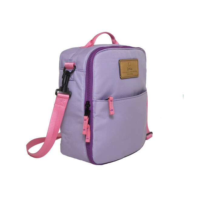 Adventure Lunch Bag, Lilac
