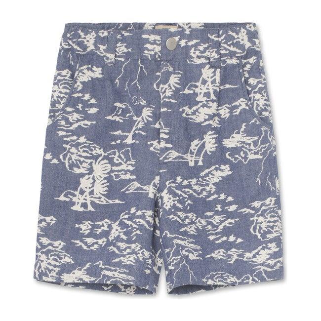 Hugin Shorts, Deep Peacock Blue