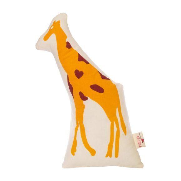 Yellow Giraffe Large Cushion