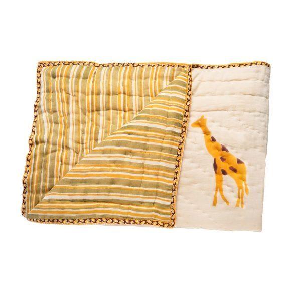 Yellow Giraffe Organic Quilt