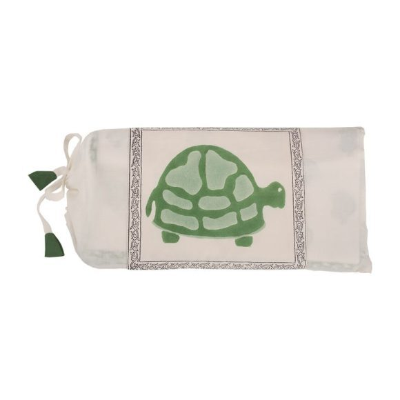 Green Turtle Organic Blanket