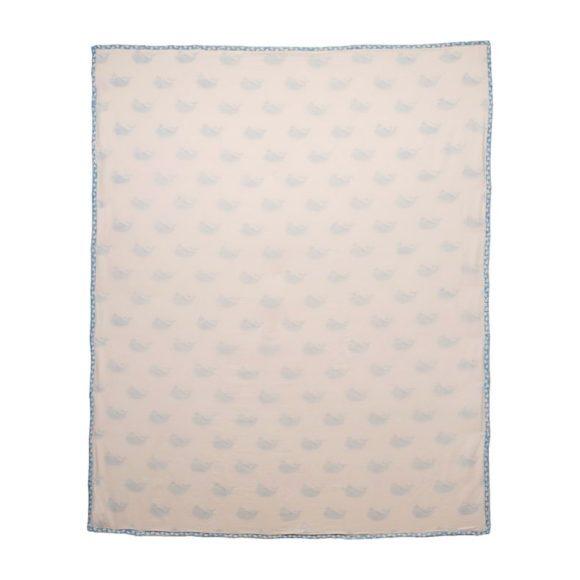 Blue Whale Organic Blanket