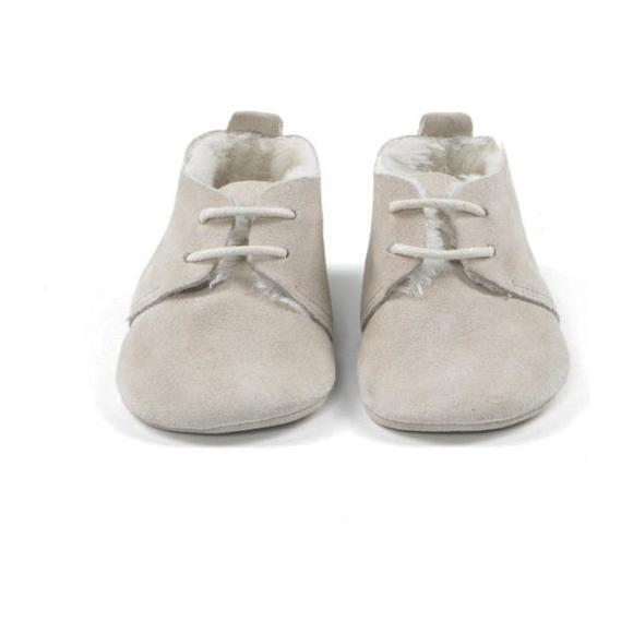 Winter Oxford Shoes, Gray