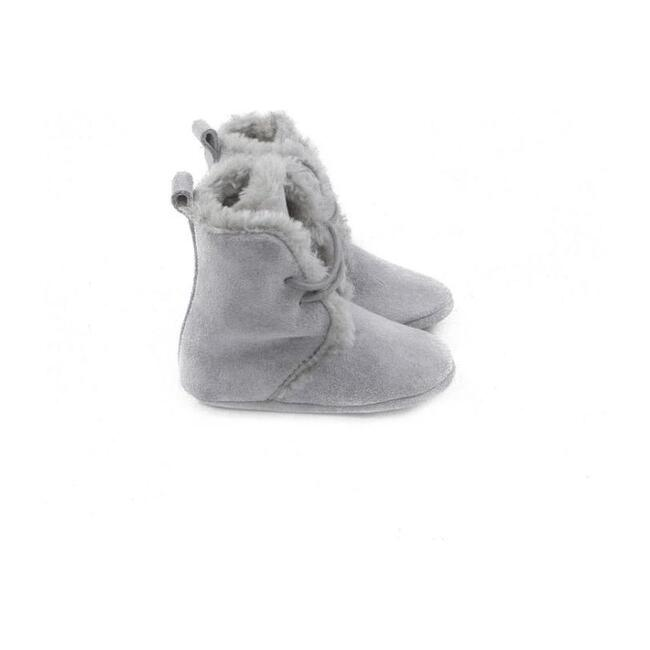 Stone Winter Booties, Gray