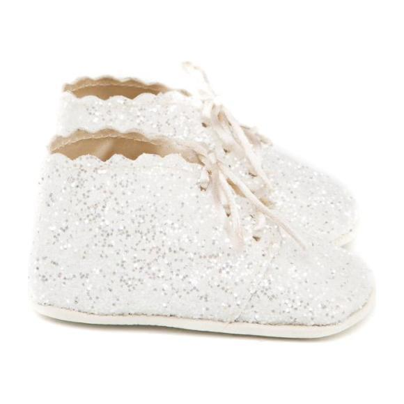 Milky Way Oxford Shoes, White