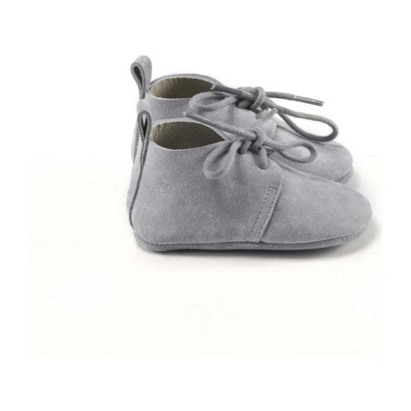 Classic Oxford Shoes, Gray