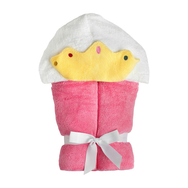 Princess Hooded Towel, Pink
